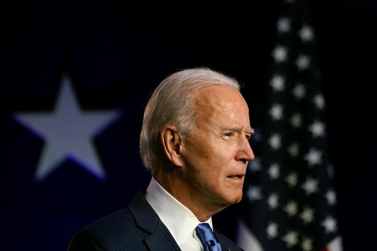 Joe Biden's speech about the 20202 election is so inspiring.