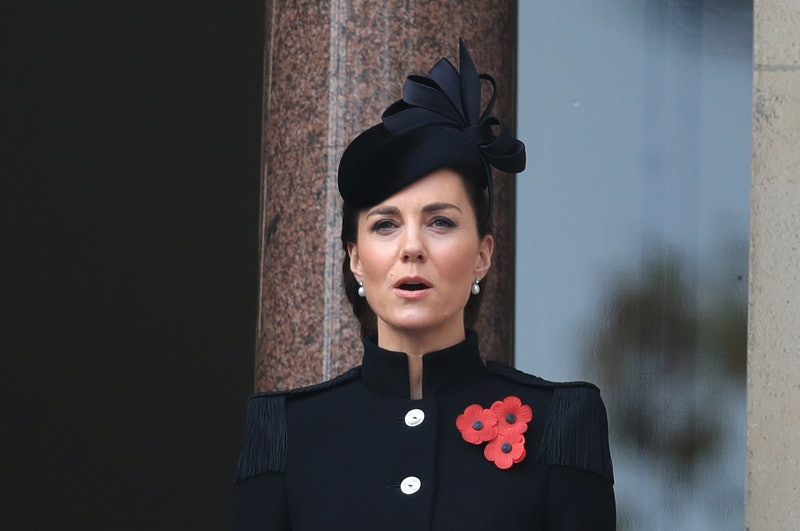 Kate Middleton attended the annual Remembrance Sunday service in one of her most elegant updos yet