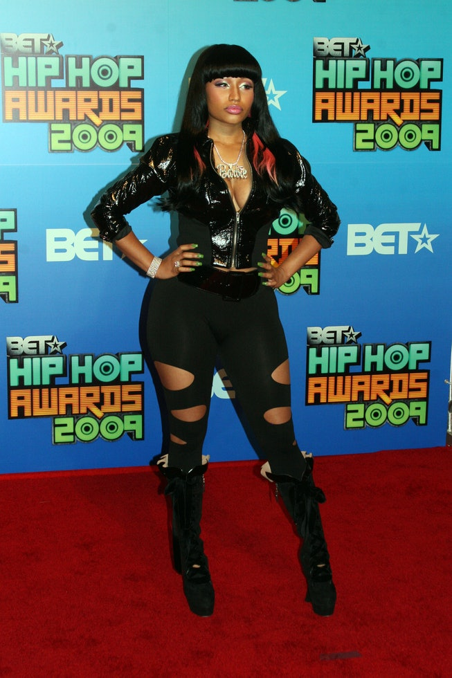 Nicki Minaj at the 2009 BET Hip-Hop Awards
