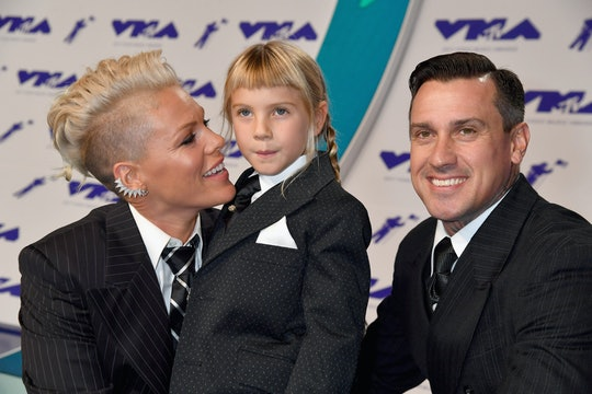 Pink's daughter Willow can really sing.