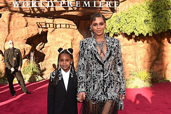 Blue Ivy Carter's Grammy nomination on Beyoncé's song is a huge moment.