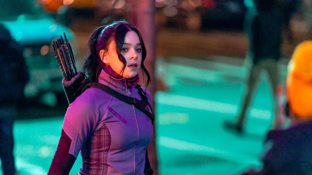 Hailee Steinfeld filming 'Hawkeye' On Disney+