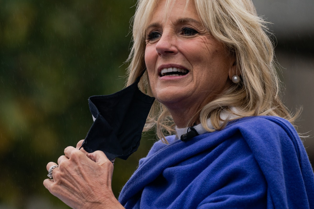 Jill Biden has said she plans to continue teaching once she's first lady.