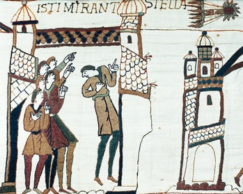 bayeux tapestry comet