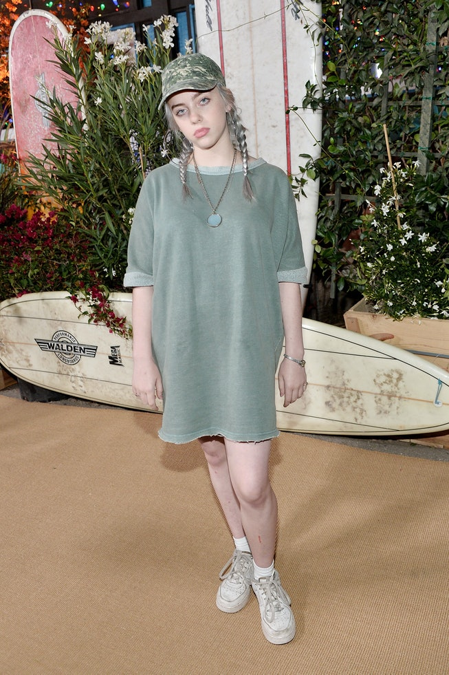 Billie Eilish in 2016, Teen Vogue Young Hollywood Party
