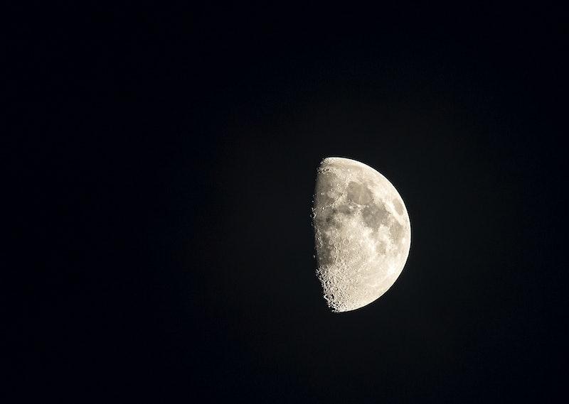 moon, sky, space