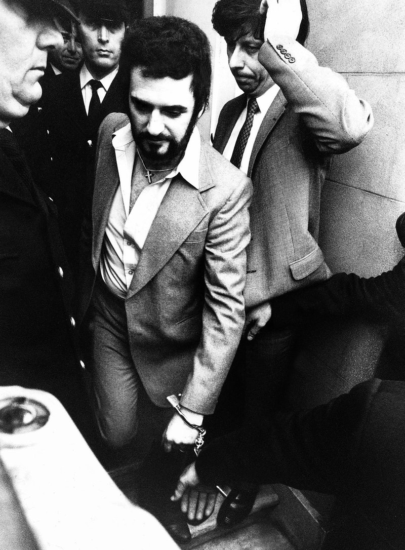 Peter Sutcliffe, subject of Netflix's 'The Ripper.' Photo via Getty Images.