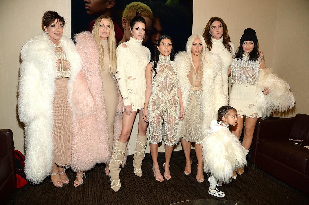 The KarJenners attend a Kanye West concert.