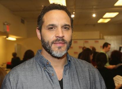Actor Daniel Sunjata.