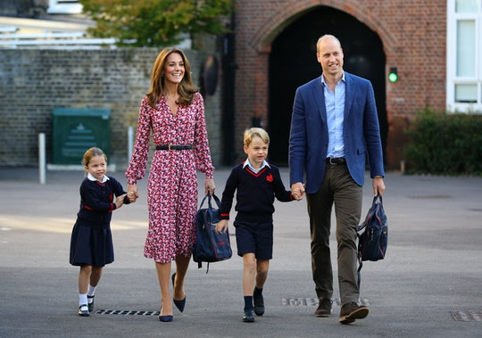 Kate Middleton is apparently late for school drop-off sometimes.