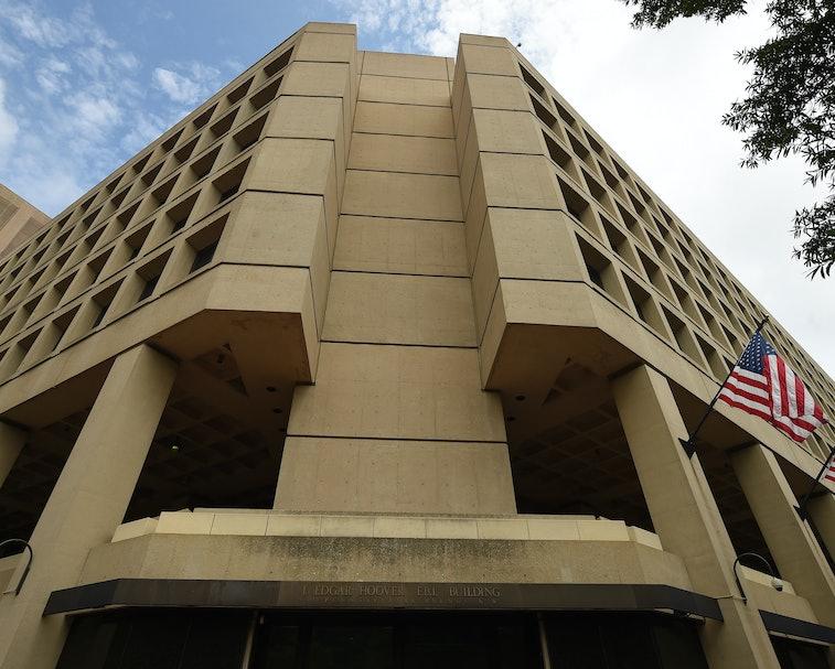 FBI headquarters building in Washington, DC.