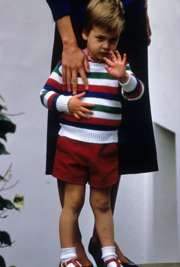 Prince William in 1985.