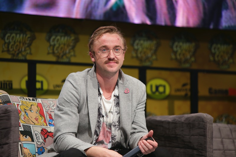 Tom Felton teared up while watching the first 'Harry Potter' film for the first time in 20 years on Instagram