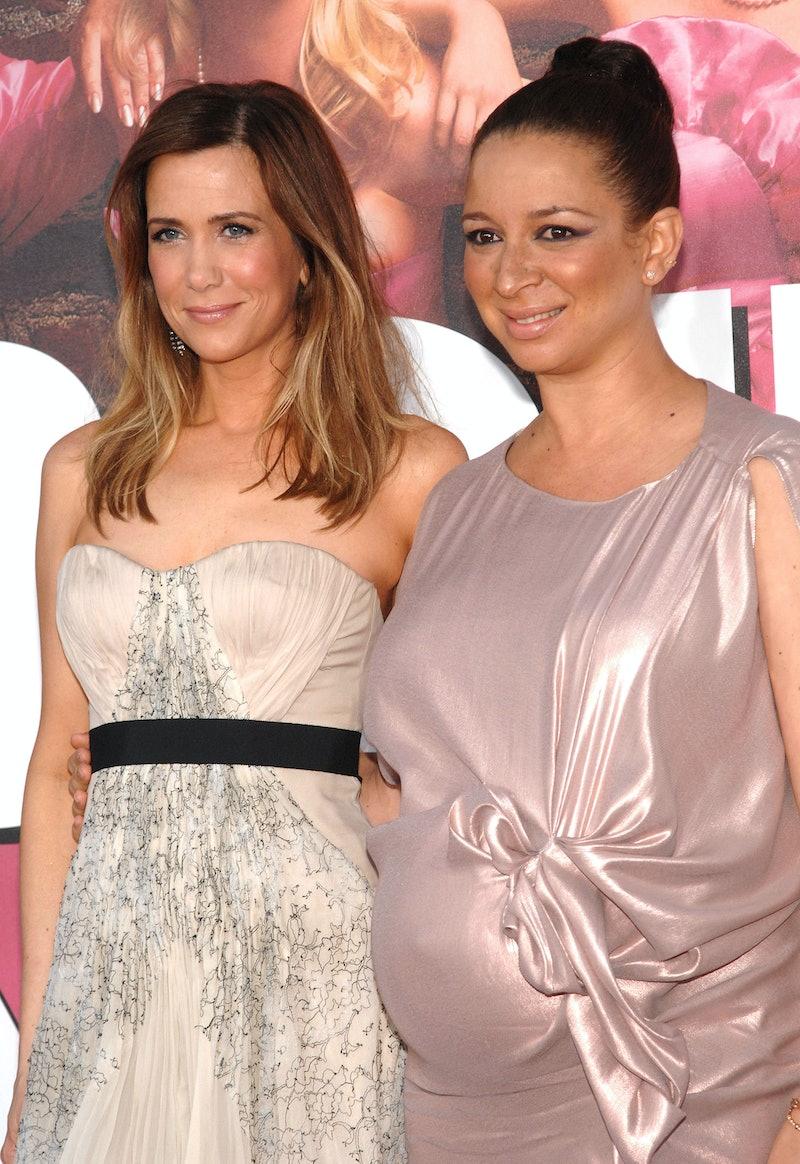 Actors Kristen Wiig and Maya Rudolph.