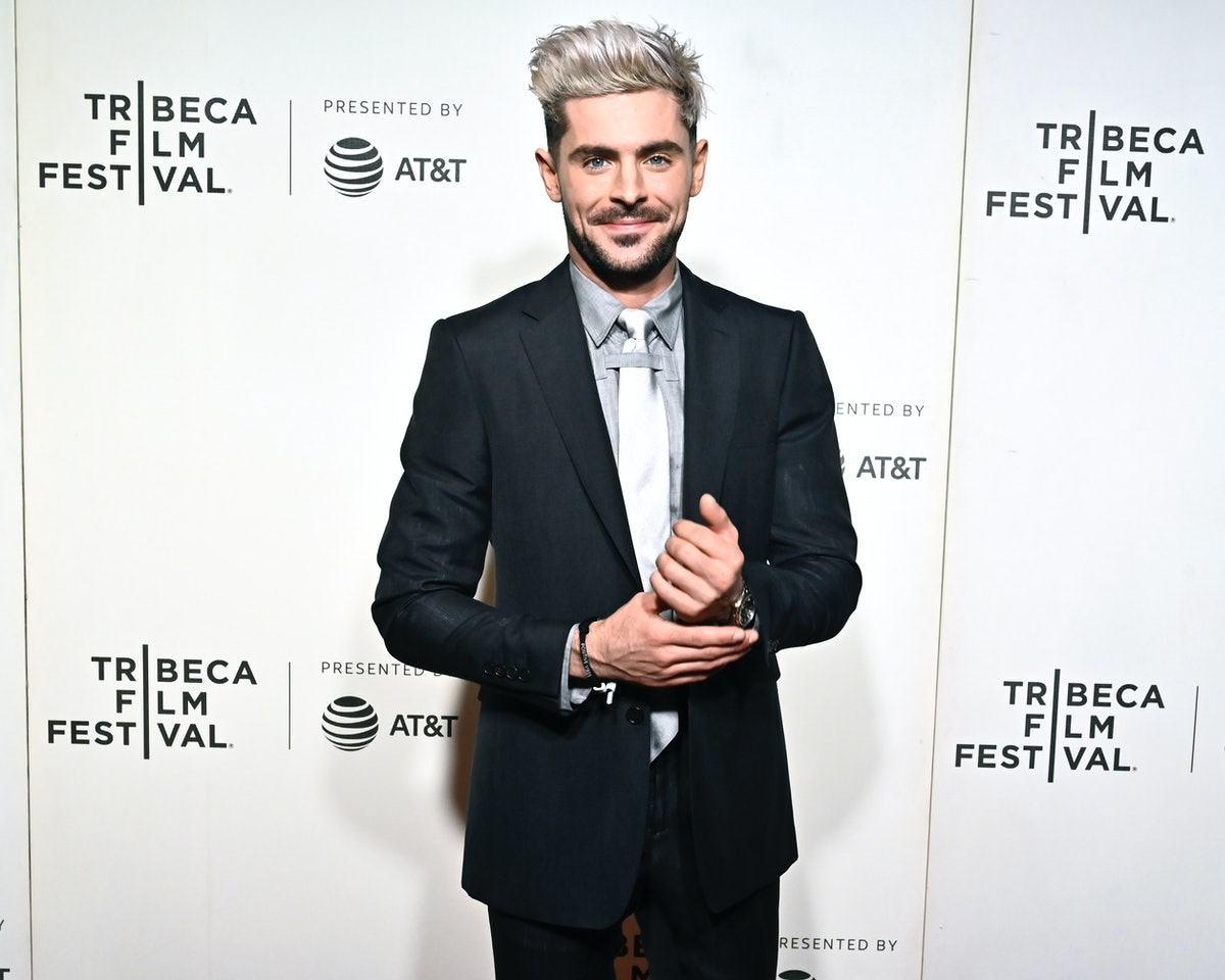 Zac Efron at the Tribeca Film Festival.