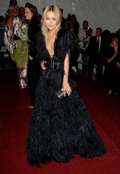 Mary Kate Olsen attends the Metropolitan Museum of Art Costume Institute Benefit Gala 'Poiret: King ...
