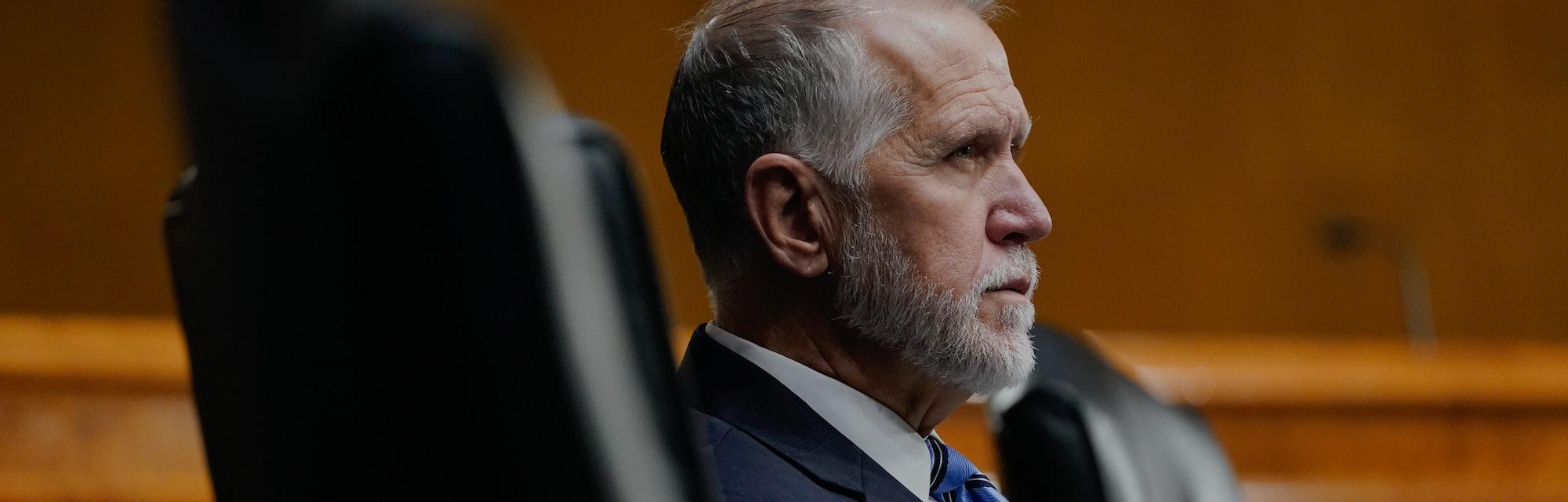 Thom Tillis, U.S. Senator for North Carolina, snuck a Hollywood proposal into the COVID-19 spending bill.