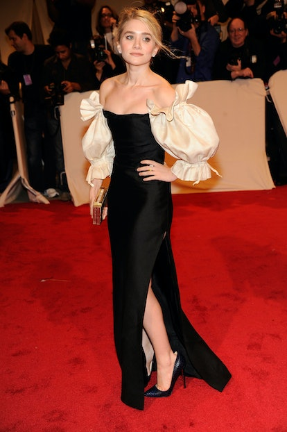 """Ashley Olsen attends the """"Alexander McQueen: Savage Beauty"""" Costume Institute Gala at The Metropolit..."""