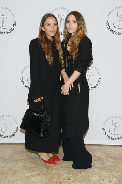 Mary-Kate Olsen and Ashley Olsen attend the Youth America Grand Prix's 20th Anniversary Gala at Dav...