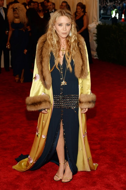 """Mary-Kate Olsen attends the Costume Institute Gala for the """"PUNK: Chaos to Couture"""" exhibition at t..."""