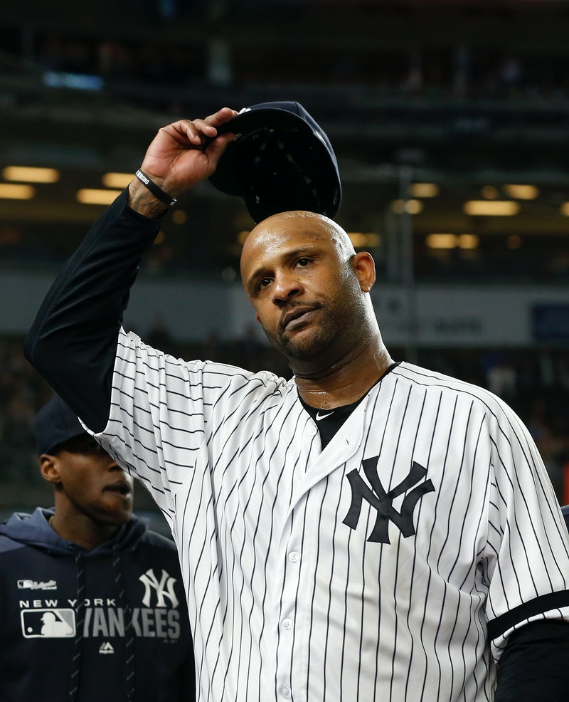 Major League Baseball pitcher CC Sabathia