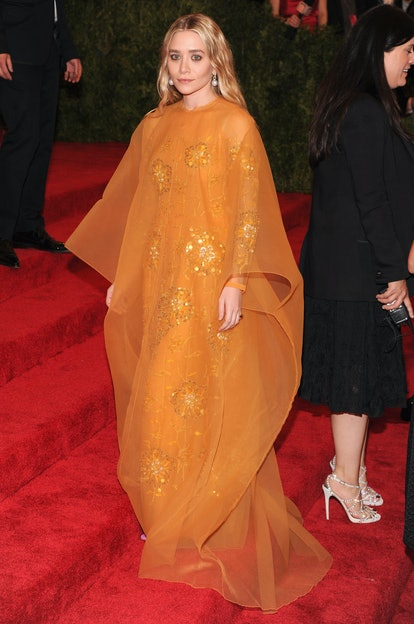 """Ashley Olsen attends the Costume Institute Gala for the """"PUNK: Chaos to Couture"""" exhibition at the M..."""