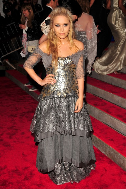 """Mary-Kate Olsen attends THE COSTUME INSTITUTE GALA: """"The Model As Muse"""" with Honorary Chair MARC JAC..."""