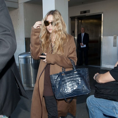 Ashley Olsen is seen at LAX (Los Angeles International Airport) on December 10, 2012 in Los Angeles, California.