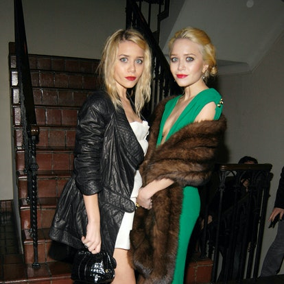 Ashley Olsen and Mary-Kate Olsen attend HBO's Annual PRE-GOLDEN GLOBE Reception at Chateau Marmont on January 13, 2007 in Los Angeles, CA.