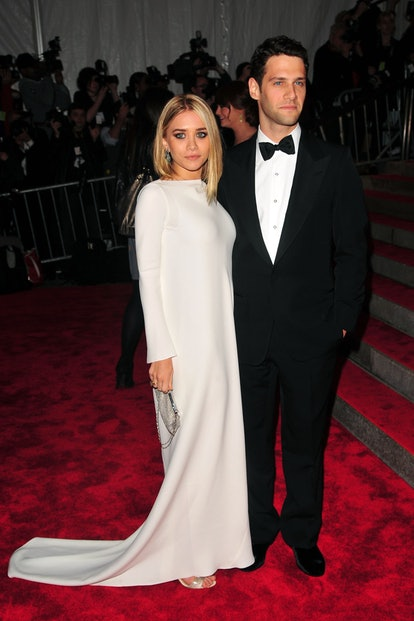 """Ashley Olsen and Justin Bartha attend THE COSTUME INSTITUTE GALA: """"The Model As Muse"""" with Honorary ..."""