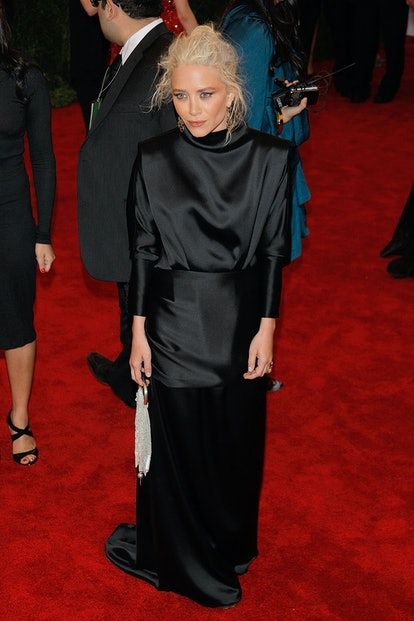 """Mary-Kate Olsen attends the """"Schiaparelli And Prada: Impossible Conversations"""" Costume Institute Gal..."""