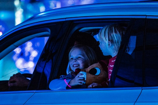 driving around and looking at Christmas lights is a family tradition