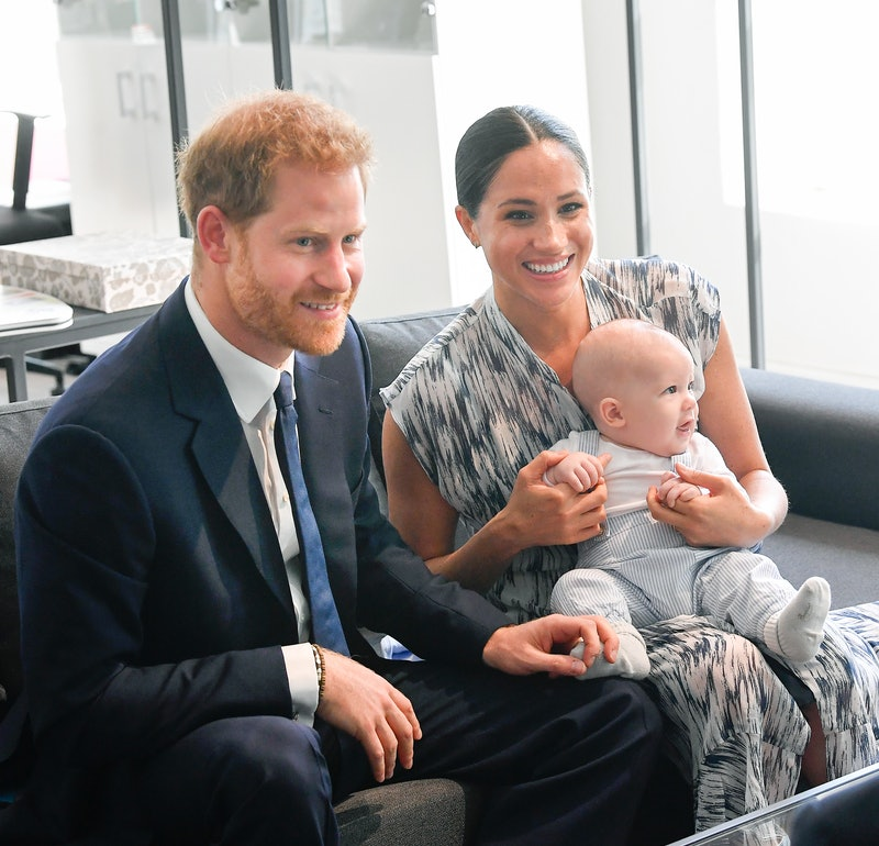 Meghan and Harry's 2020 Christmas card featured a sweet family moment with son Archie.
