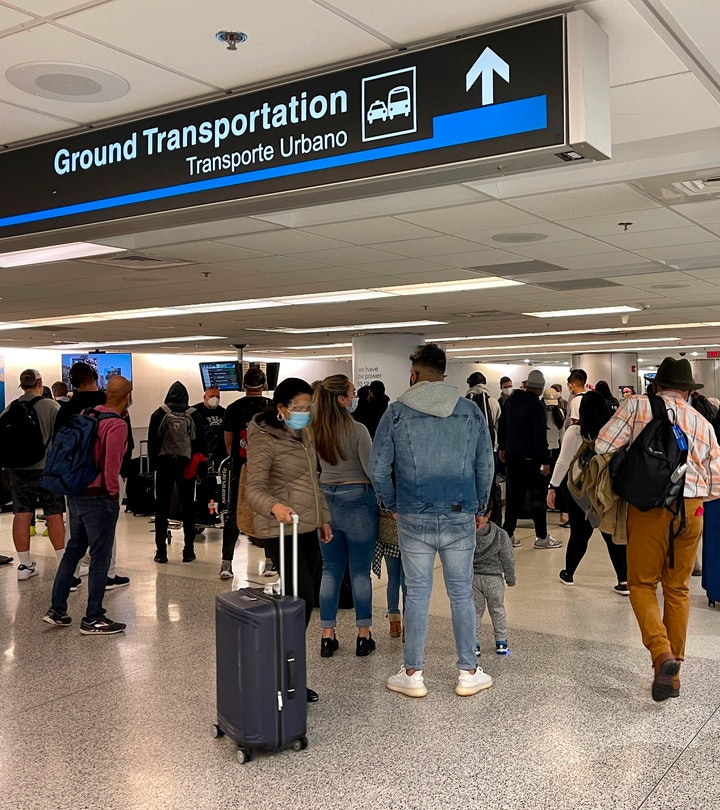 The CDC has sent out a last-minute warning urging people not to travel over the holidays in an effort to curb surging COVID-19 cases.