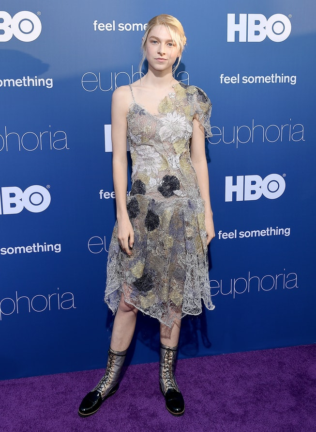 Hunter Schafer in 2019, Premiere Of HBO's 'Euphoria'