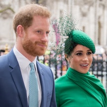 Meghan Markle and Prince Harry release first episode of Spotify Archewell Audio podcast. Photo via Getty Images