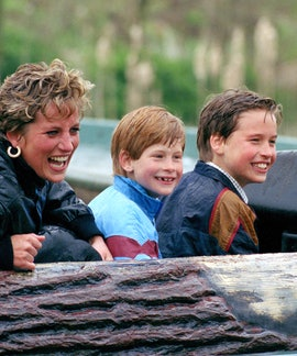 Princess Diana's love for her sons was legendary.