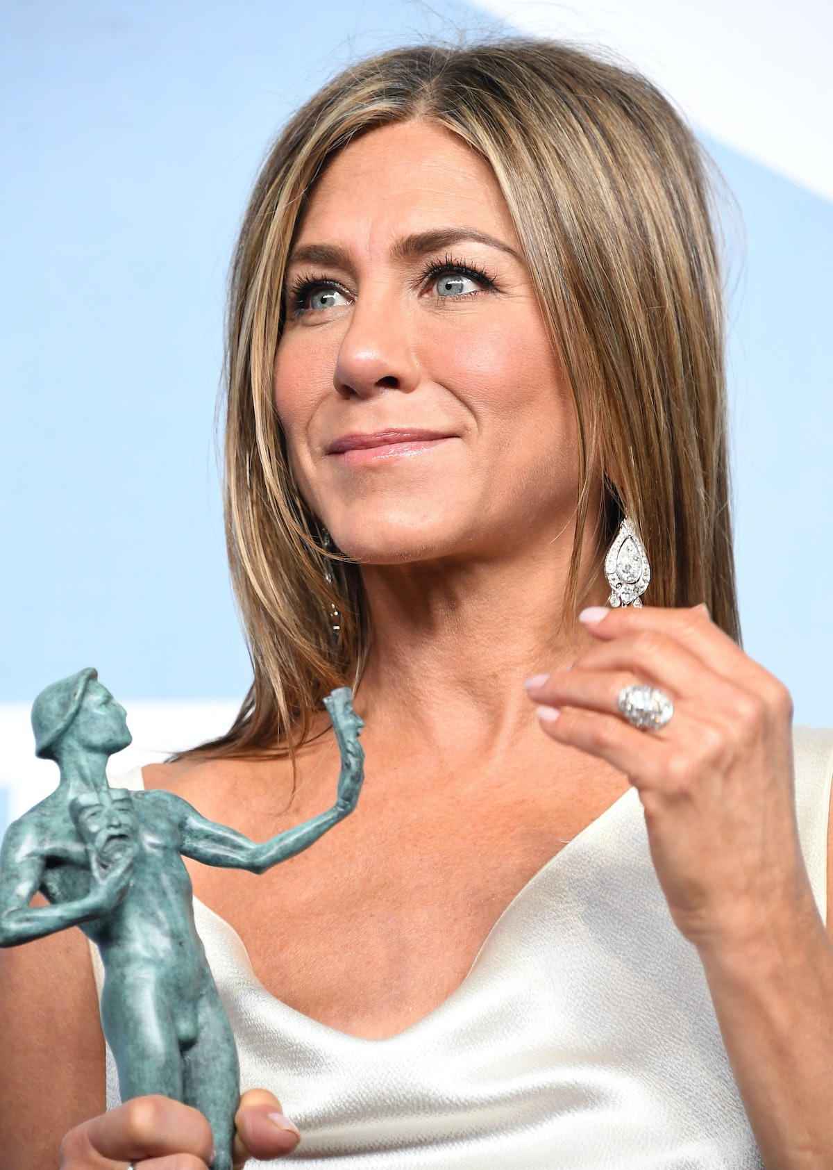 Jennifer Aniston attends the 26th Annual Screen Actors Guild Awards on Jan. 19, 2020.