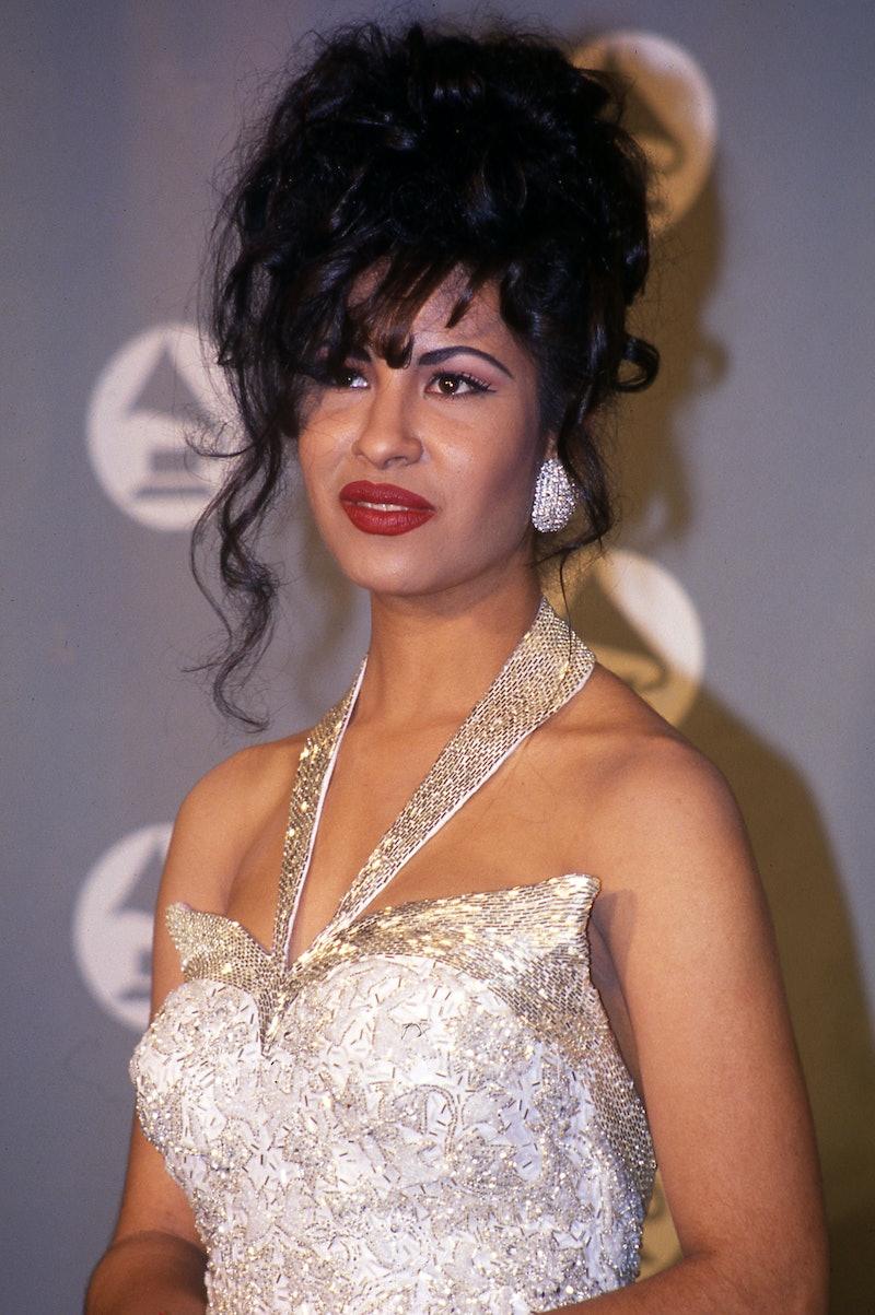 Selena Quintanilla, who was shot and killed by Yoland Saldivar in 1995.