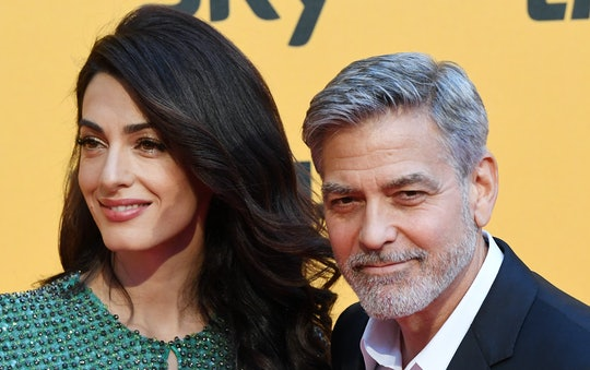 George Clooney's twins know more Italian than their parents.
