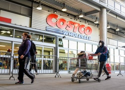 costco holiday shoppers