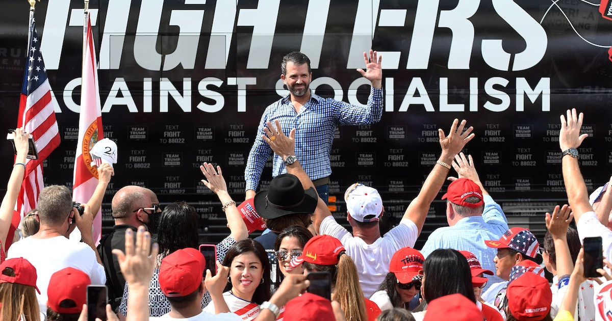 Trump Jr. possibly leading the NRA is your new nightmare fuel