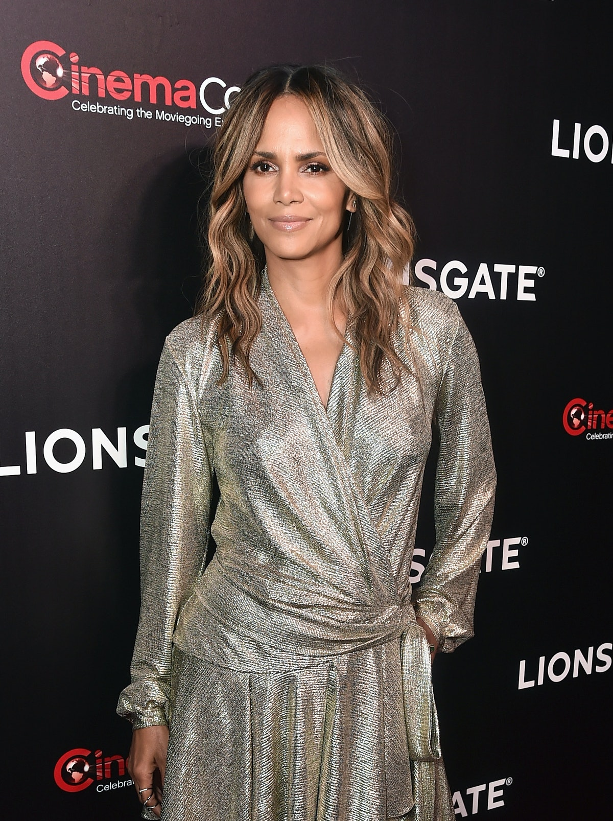 Halle Berry attends CinemaCon in April 2019.