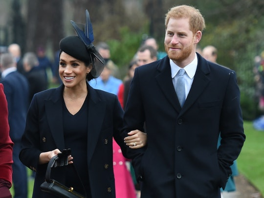 Meghan Markle and Prince Harry were super casual Christmas tree shopping.