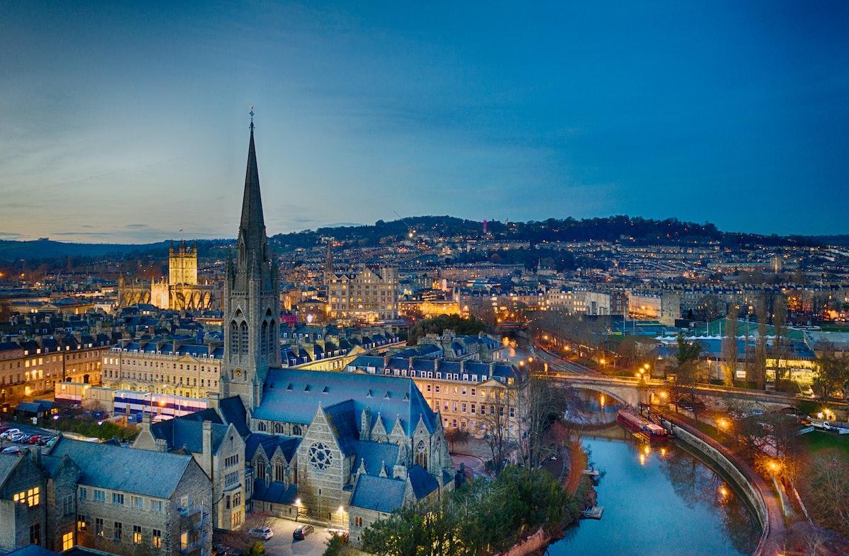 Bath, England. Photo via Getty Images