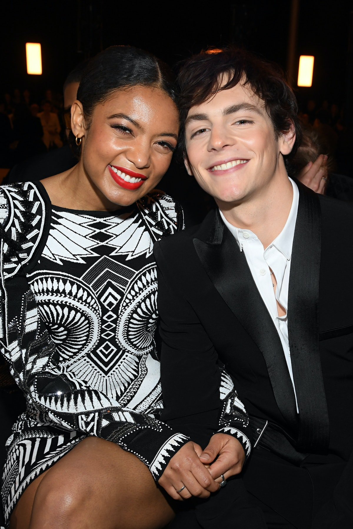 Jaz Sinclair and Ross Lynch from Chilling Adventures of Sabrina are dating