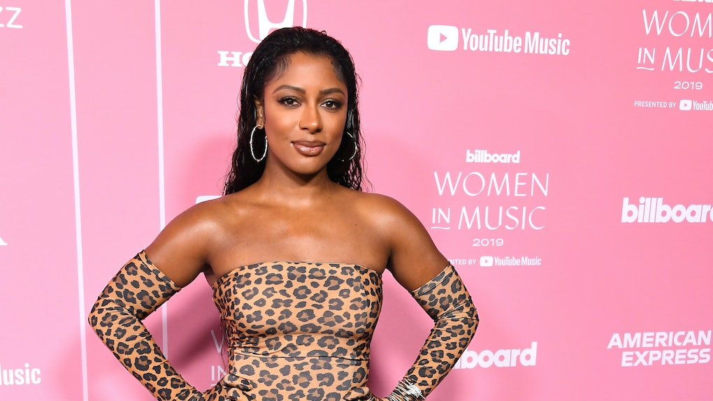 Victoria Monet's pregnancy announcement on Instagram was major.