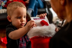 little boy christmas stocking