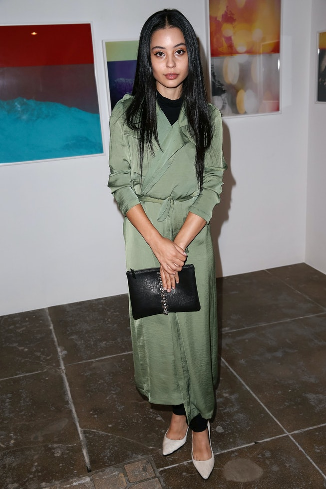 Alexa Demie in 2014, Mark Moore Gallery