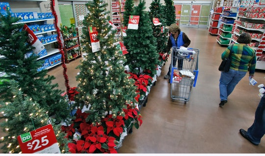 walmart during the holidays